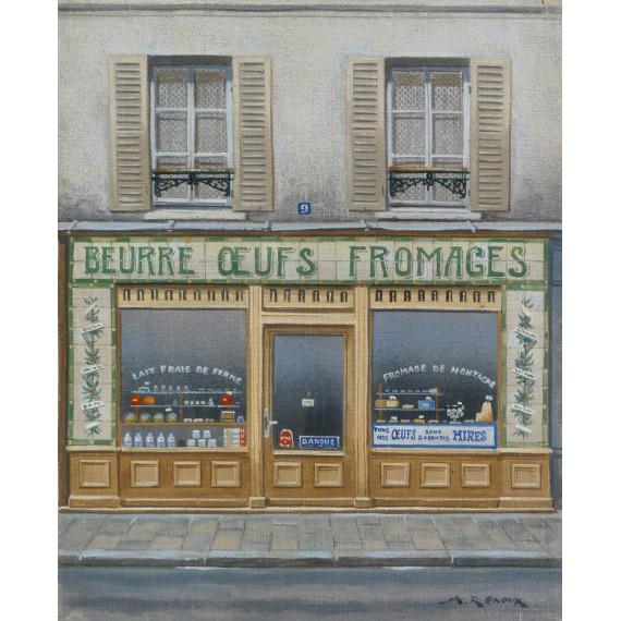 Beurre Oeufs Fromages, Paris