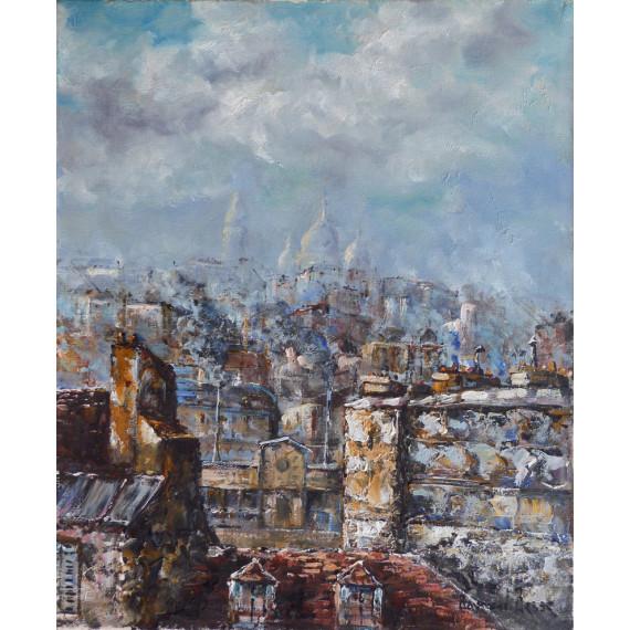 Panorama de Paris, vue du Sacré-Coeur
