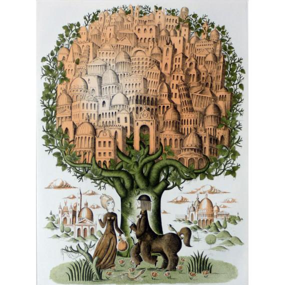 Les amoureux, le centaure et le village dans les arbres