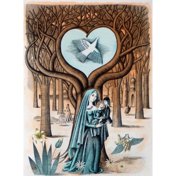 Les amoureux à la colombe