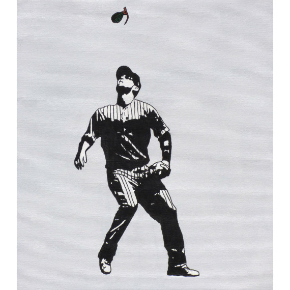 """Damoclès"" , Baseball / Receveur"
