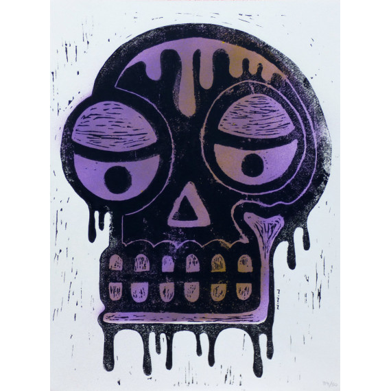 Skull Violet