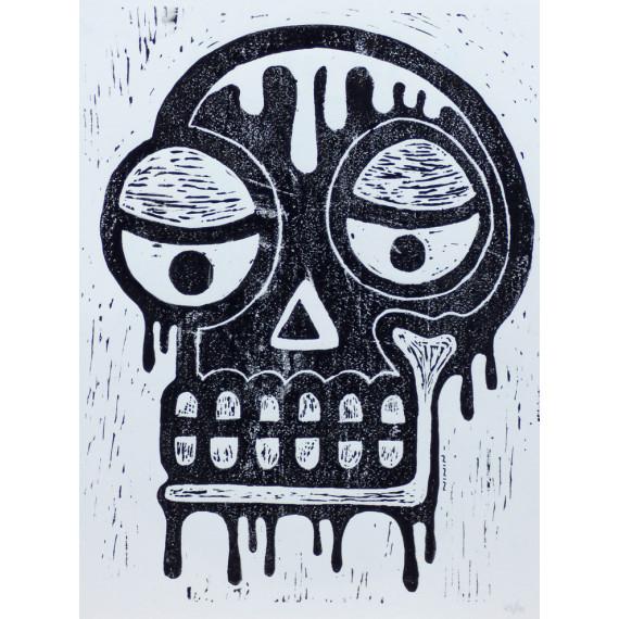 Skull Noir et Blanc