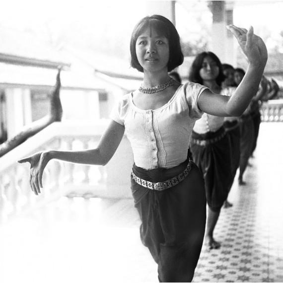 Répétition avec Mem Kossony, Palais Royal, Cambodge