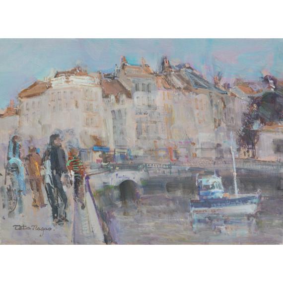 Le port français de La Rochelle en France