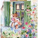 L'enfant au bord de la fenêtre