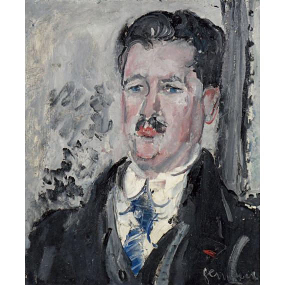 Portrait présumé d'Émile Vinot, marchand et ami de Gen Paul, circa 1925