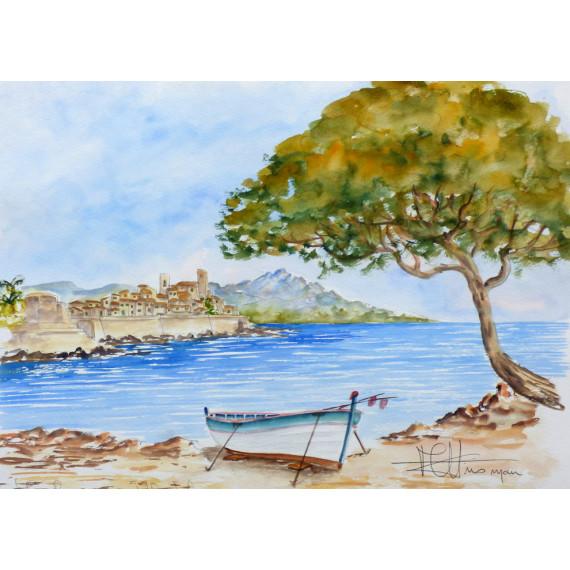 Les remparts d'Antibes