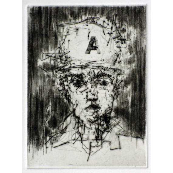 Etching 1 by Bust the Drip
