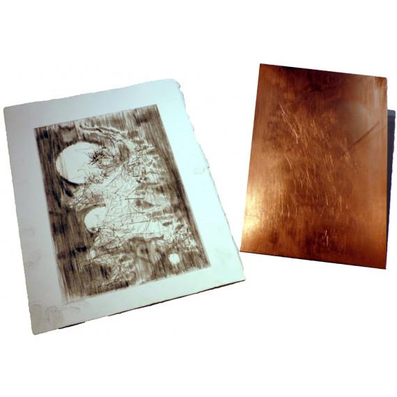 Gravure et plaque Etching 4 par Bust the Drip