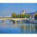 Le Pont sur la Seine à Paris