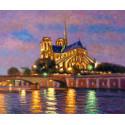 Notre-Dame de Paris la Nuit