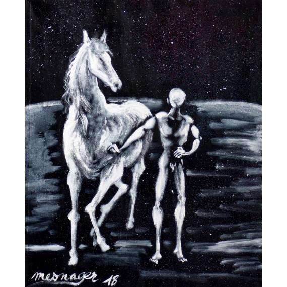 Le meneur de cheval