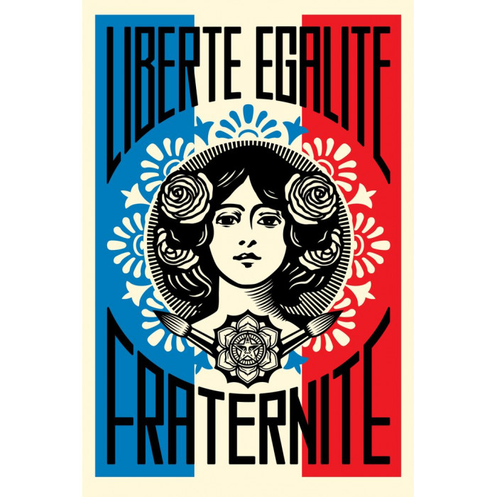 Image qui font du bien. - Page 14 Liberte-egalite-fraternite-shepard-fairey-obey-lithograph