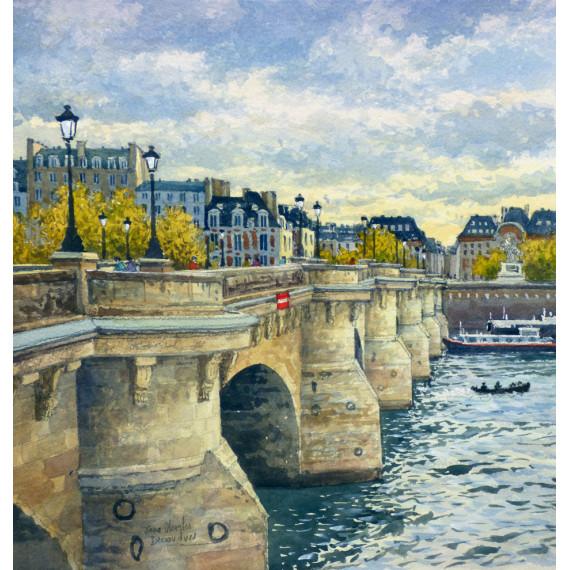 Le Pont-Neuf à Paris