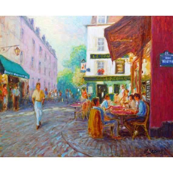 The Cafe  in Montmartre