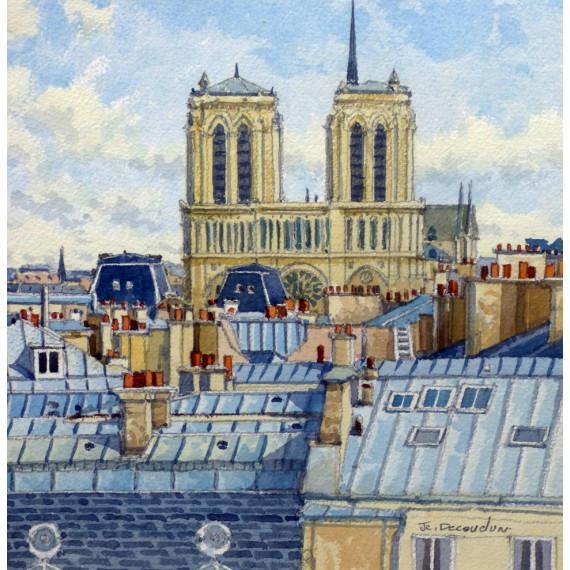 Les Toits de Paris, Notre-Dame de Paris