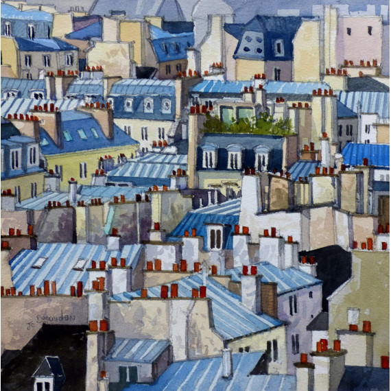The Roofs of Paris