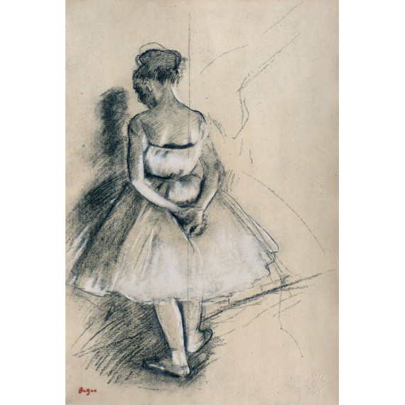 The Ballerina  (after Degas)