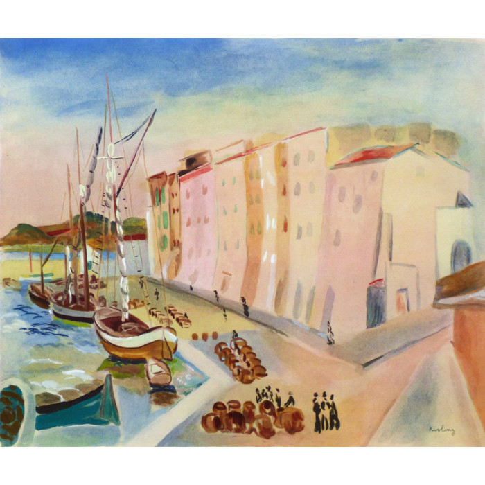 Saint-Tropez (after Kisling)