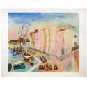 Saint-Tropez (d'après Kisling)