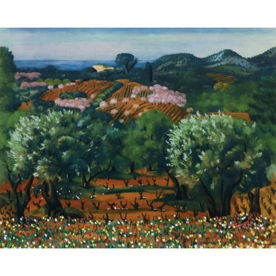 Provence (after Kisling)
