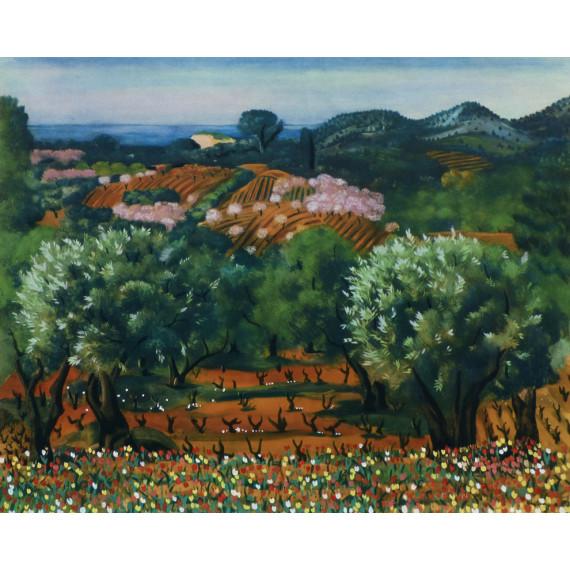 Provence (d'après Kisling)