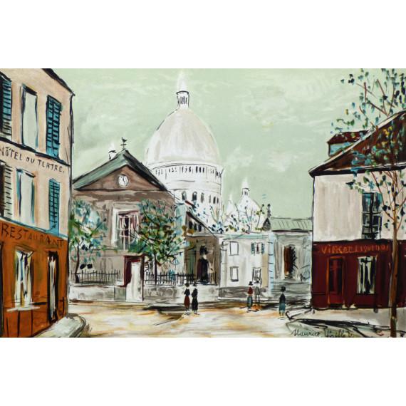 Montmartre, l'Église Saint-Pierre et le Sacré-Coeur