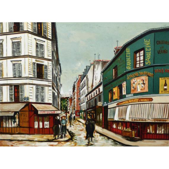 Montmartre, Épicerie Rochechouart, 1923