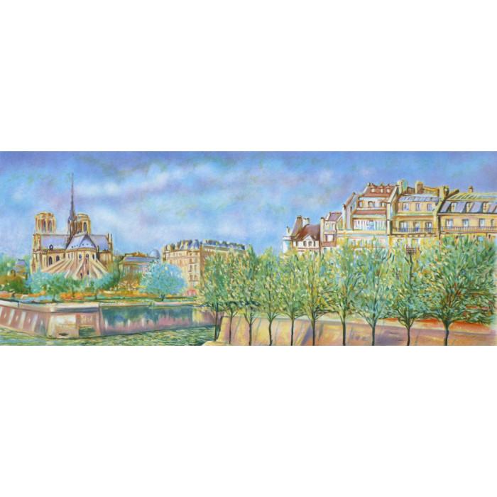 Paris, Notre-Dame et la Seine