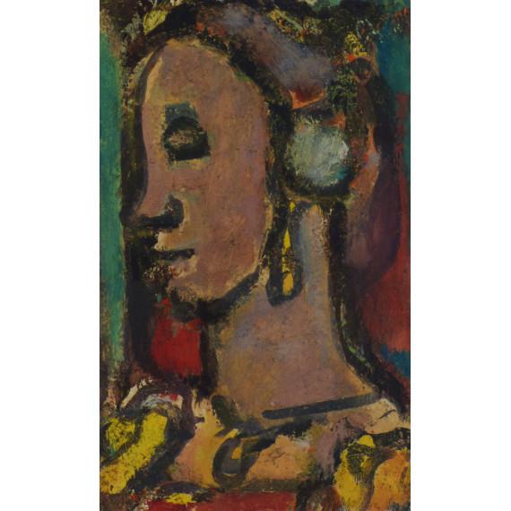 Portrait (d'après Georges Rouault)