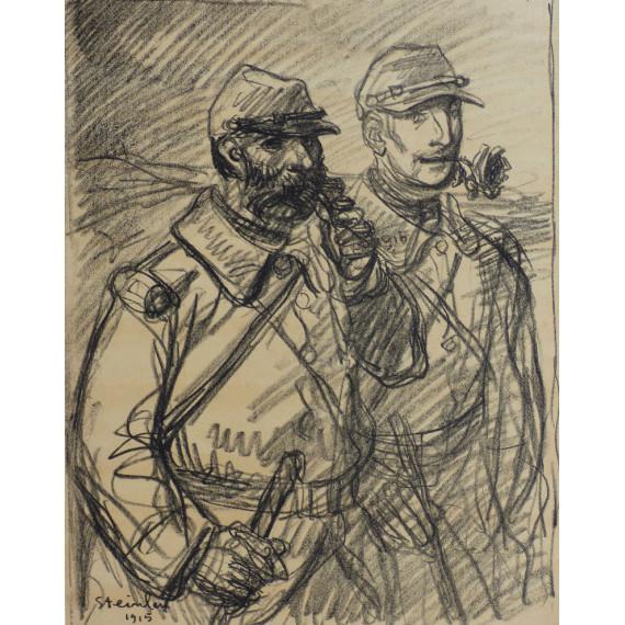 Les soldats, 1915