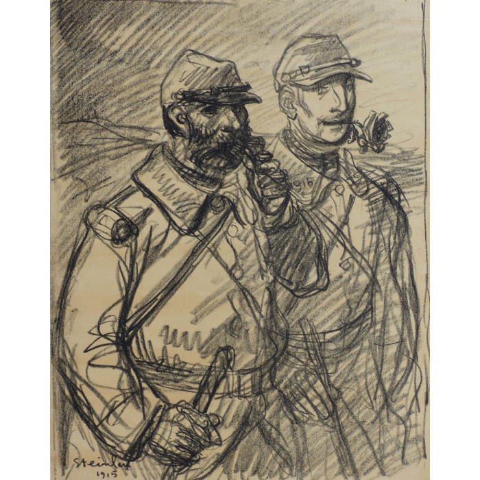 The soldiers, 1915