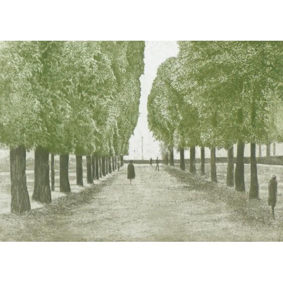 Harold ALTMAN - L'esplanade - 1982