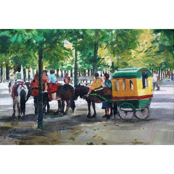 La promenande, Jardin des Tuileries