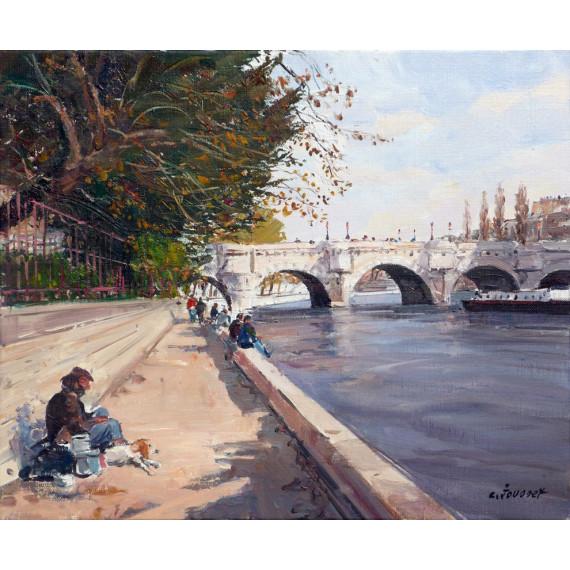 Le Clochard devant le Pont-Neuf
