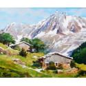 Chalets de Montagne, Massif du Mont Blanc L'Aiguille du Midi