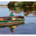 Le pêcheur sur la Loire