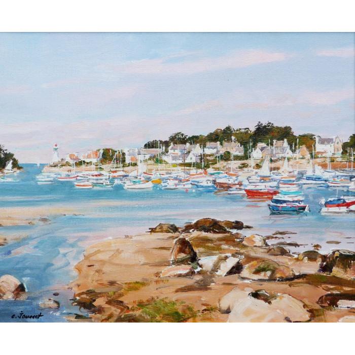 Bateaux en Bretagne près de Tregastel