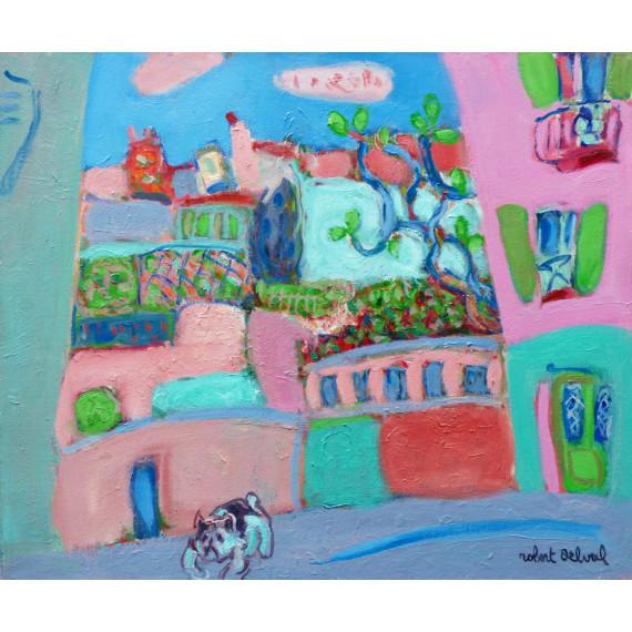 Spring in Montmartre, 2006