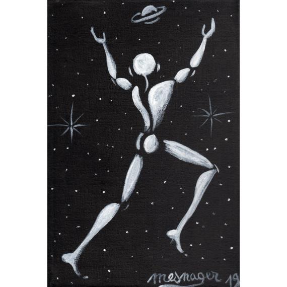 Le Coureur des étoiles et Saturne