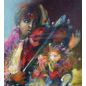 The young violonist