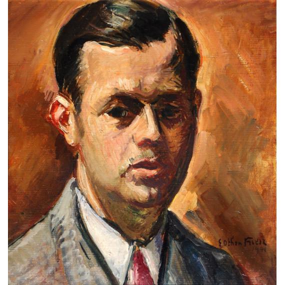Émile Othon Friesz - Portrait du marchand Paul Pétridès