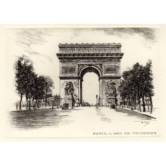 L'Arc de triomphe - Paris