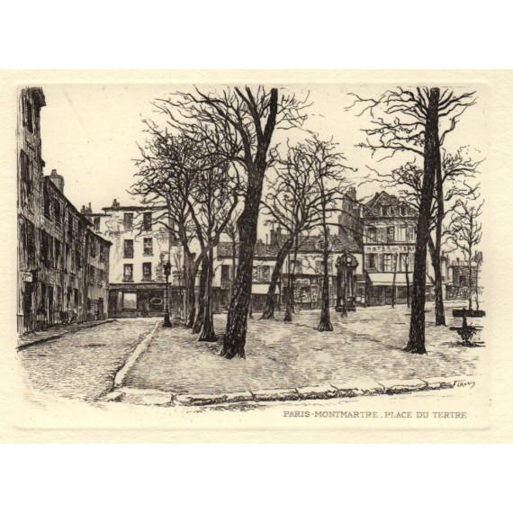 Paris, Montmartre, Place du Tertre