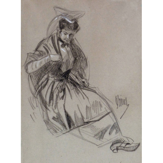 Jules Chéret - Bretonne