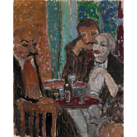 At the Cafe, Paris