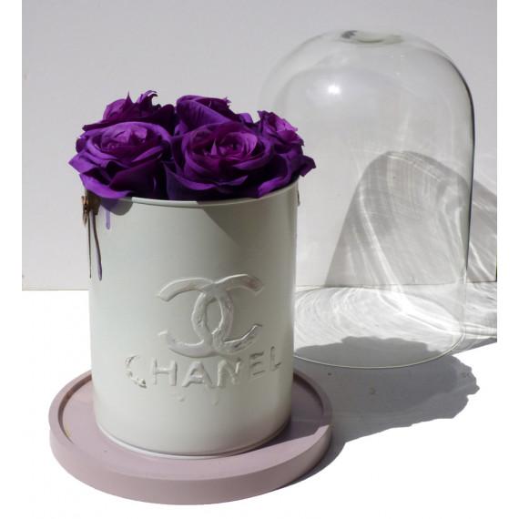 Lis Sam - CHANEL Roses Purple