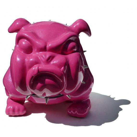 Le grand bouledogue rose