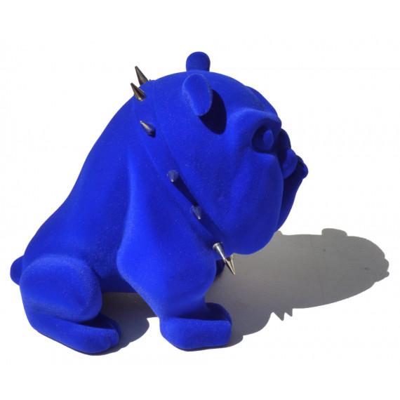 Le petit bouledogue bleu